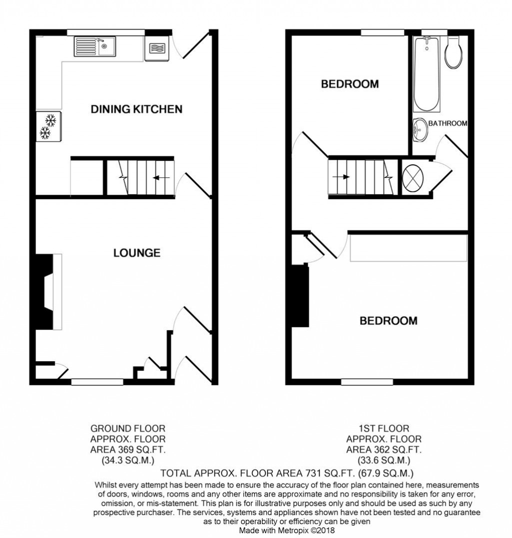 Floorplans For Hamilton Street, Chesham, Bury