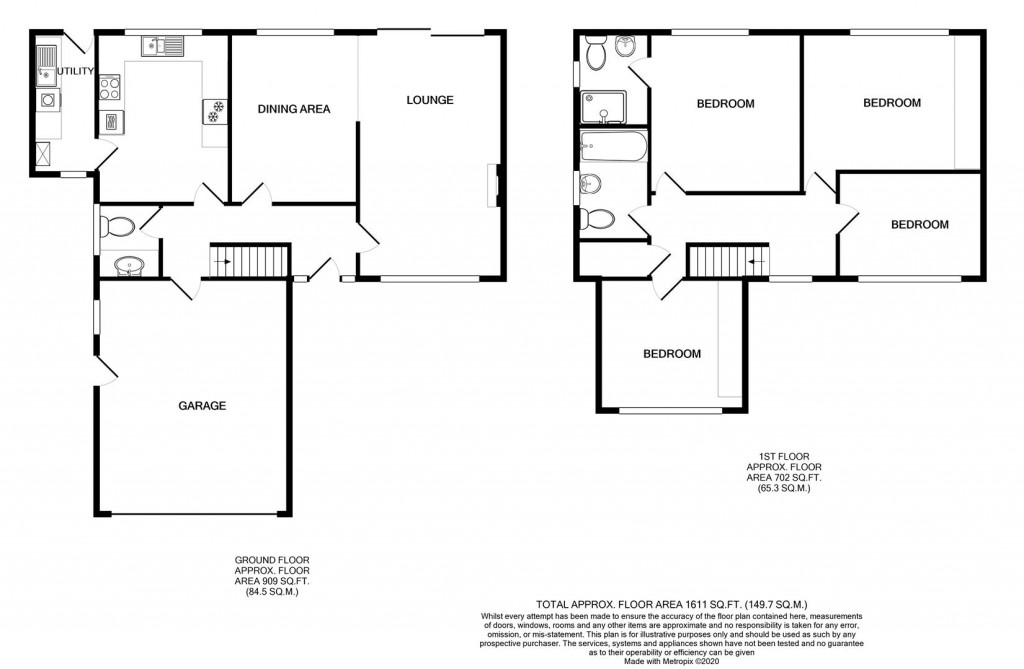Floorplans For Springside View, Brandlesholme, Bury